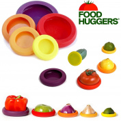 Vegetable Savers Food Huggers Fruit Covers Reusable Silicone Jars Bottles Lid Of
