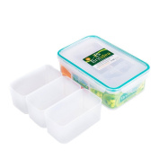 Airtight Compartment Food Storage Container - Leakproof Lunch Bento Box With Lid