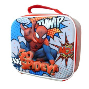 Official Marvel Spiderman Go Spidy 3d Eva School Lunch Insulated Bag New