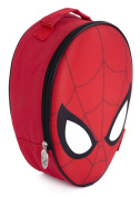 Ultimate Spiderman 3d Head Kid Boys Insulated School Lunch Box Sandwich Cool Bag