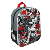 Kids Official Star Wars Rebels Bag Stormtrooper Action 3d Image Travel Backpack