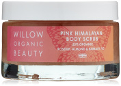 Willow Organic Beauty Butterfly Range Rosehip, Almond & Barbary Fig Pink Himalayan Body Scrub 250 g