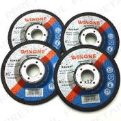 4 X Quality 11cm Grinder Discs Quality Metal Angle Cutting Blade Diy Wheel Tool