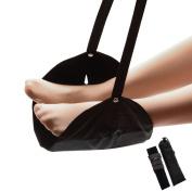 HomySnug Foot Rest Portable Footrest Flight Adjustable Foot Rest Travel Accessories Office Feet Rest Foot Hammock