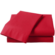 Plain Percale Fitted Sheets by AUTUMN NIGHTS