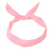 1 hair ribbon with wire-many different styles possible pink pink green yellow navy blue