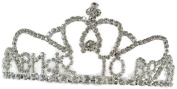 Signature Tiara Bride To Be with Clear Crystal Tiara