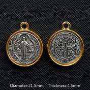 Great Medal Saint Benoit Nursie Patriarch of the Monks of West