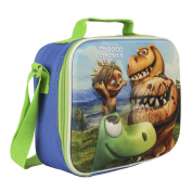 Children Kids Disney Pixar The Good Dinasaur 3d Effect Insulated Blue Lunch Bag