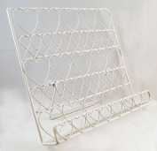 English Tableware Co. Country Retreat Powder Coated Wire Recipe Cookbook Stand