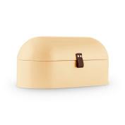 Bread Bin Box Classic Retro Cream Powder Coat German Design By Klarstein 14.5 L