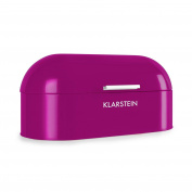 Klarstein Focaccia Viola 11.5 Litre Bread Bin Basket Box Metal Food Storage New