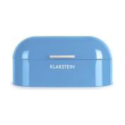 Klarstein Focaccia Paloma Blue Powder-coated Enamel Metal Case Food Storage