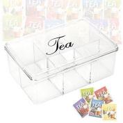 6 Section Acrylic Tea Box