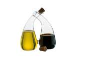 Anton Studio Designs Twin Oil And Vinegar, Transparent. Shipping Included