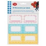 Paquet De 30 Étiquettes De Préservation Maison Maison - Tala Jam Jar Labels