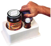 Spill-not Jar And Bottle Opener - Jars Easily Opened Using Just One Hand