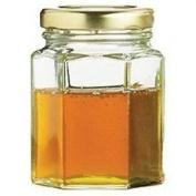 55ml Hexagonal Preserving Jar With Gold Screw Top Lid - Tala