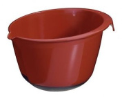 High Quality Red Medium Mixing Bowl With Non-slip Base Baking Cooking Kitchen. H