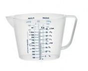 Stewart 1483008 1 Litre Measuring Jug - Clear