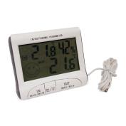 Digital Thermometer Humidity Metre Kitchen Room Indoor Outdoor Hygrometer