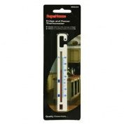 Fridge & Freezer Thermometer - Plastic White Supahome Thermometers 2 3