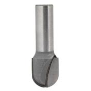 1.3cm Shank 1.9cm Cutting Diameter Round Nose Router Bit