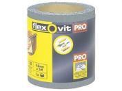 Flexovit 26416 High Performance Finishing Sanding Roll 115mm X 5m 180g