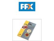 Flexovit Flv26349 Hook And Loop Sanding Block Refill Kit Fine 120 G 6 Sheets