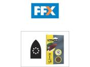 Flexovit 63642526405 Detail Sanding Sheets 105mm X 175mm 120g X 6