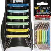 U-Lace Shoe Laces multi-coloured SUNSHINE & BLUE SKIES