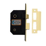 """63mm 2.1/2"""" Brass Bathroom Mortice Door Lock Privacy Toilet"""