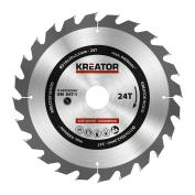 Kreator Saw Blade Wood 210x30x2.2mm 24t Krt020420