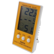 Digital Max Min Thermometer With Main Unit Hygrometer - Indoor Outdoor With 1m