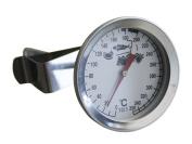Lantelme 2327 Stainless Steel Oil-oil Deep Fryer Thermometer 300°c Bimetal And