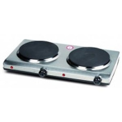 Domo Two Ring Stainless Steel Cooking Plates