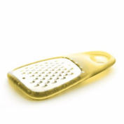 Dexam Mini Yellow Coarse Grater Cheese Fruit Veg Stainless Steel Blade Gadget