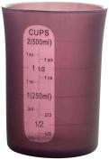 Ibili Silicone Flexible Measuring Cup, Purple, 500 Ml