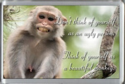Don't Think Of Yourself As An Ugly Person... - Funny Fridge Freezer Magnet