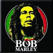 Bob Marley Fridge Magnet Logo Face New Official 76mm X 76mm