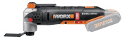 Worx Wx693.9 20v Lithium-ion Brushless Motor Sonicrafter/os