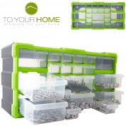 Dihl 22 Multi Drawer Parts Storage Cabinet Unit Organiser Home Garage Tool Box