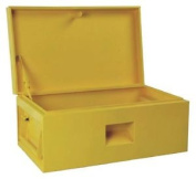 Hilka Sb355 Site Or Van Storage Box - Yellow - From The Argos Shop On