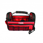 Maplin Heavy Duty Tool Bag Holdall Shoulder Strap Multi Pocket Aluminium Handle