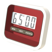 Tekbox Digital Lcd Magnetic Kitchen Cooking Timer / Counts Down And Up / Clip /