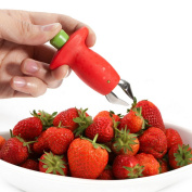 Novelty Strawberry Tomatoes Stem Huller Remover Fruit Corer Kitchen Diy Tool Uk
