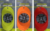 Stainless Steel Apple Corer With Plastic Handle - Easy Cut Cutting Fruit