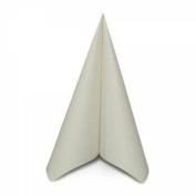 Special Offer 50 X Premium Quality Linen Feel Airlaid White Napkins 40cm X 40cm