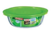 Pyrex Round Dish With Lid 1.0l - 207pc00/1045
