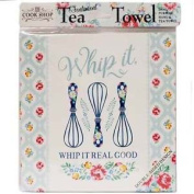 History & Heraldry Tea Towel Whip It.. Whip It Real Good Cook Shop 0014